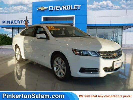 2020 Chevrolet Impala Lt Salem Va Roanoke Lafayette Hollins Virginia 2g11z5s32l9104491